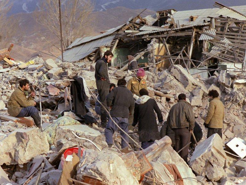 Землетрясение в Спитаке