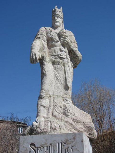 памятник Тиграну II Великому