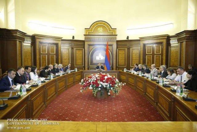 Премьер-министру представлены результаты проведенного в зоне бедствия учета