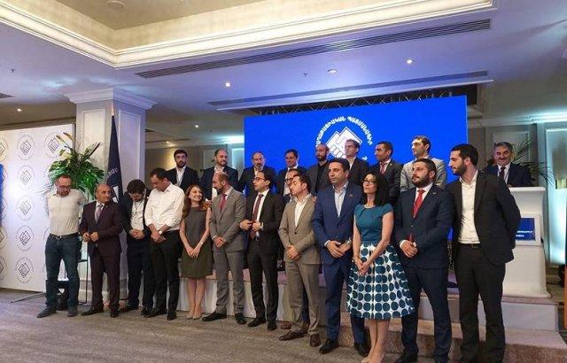 Новый состав правления партии «Гражданский договор»