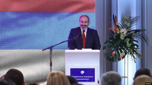 Никол Пашинян: «Мы не либералы, не центристы, мы гражданская партия»