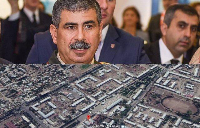 ВС Азербайджана во время учений сбросили ракету на собственный город