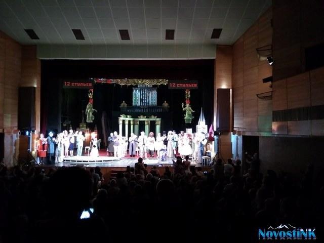 Четыре вечера Приморского театра в Ереване