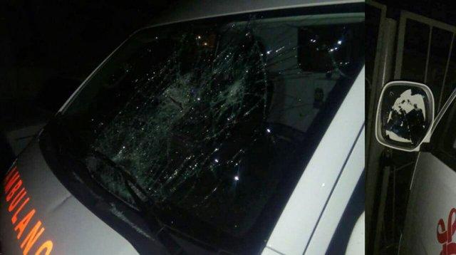 В Полиции Армении сообщили подробности инцидента с нападением на автомобиль «Скорой помощи»