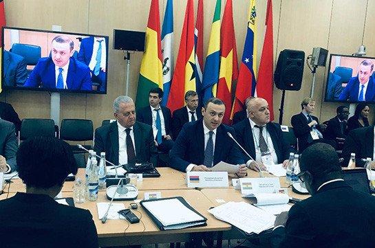 Николай Патрушев обсудил с секретарем Совбеза Армении план сотрудничества в сфере безопасности