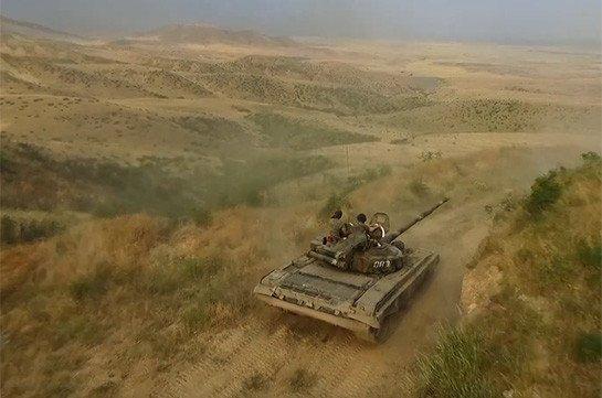 Военные учения в Арцахе продолжаются