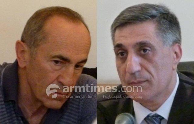Судья по делу Кочаряна и остальных снова не заявил самоотвод
