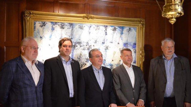 В Вашингтоне стартовала встреча главы МИД Армении Зограба Мнацаканяна с сопредседателями МГ ОБСЕ