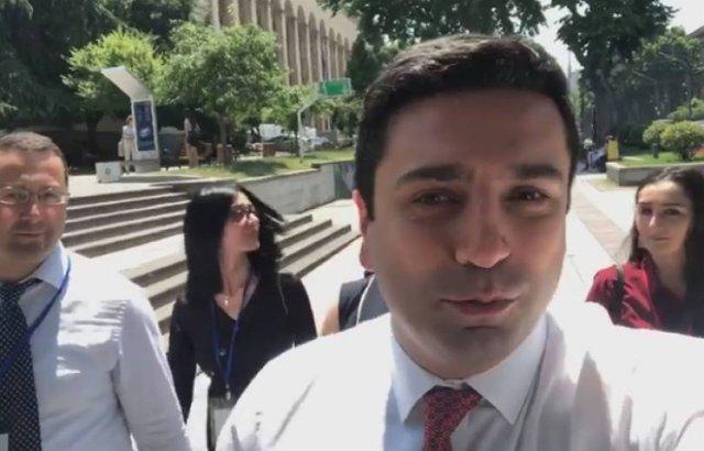 Инцидент в парламенте Грузии: армянская делегация покинула зал заседаний