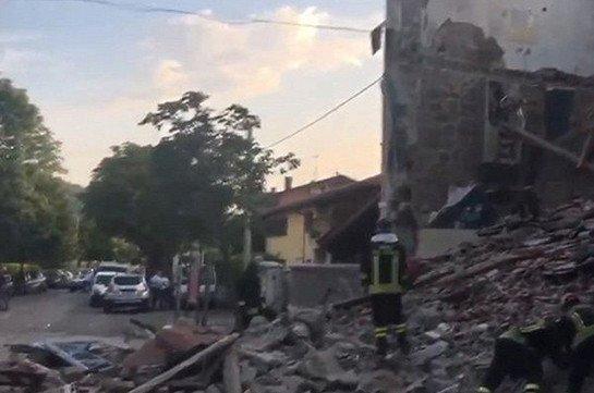 В Италии из-за взрыва бытового газа обрушился жилой дом