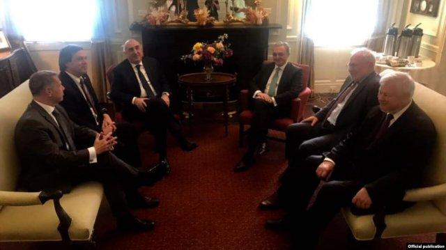 В Вашингтоне состоялась встреча глав МИД Армении и Азербайджана