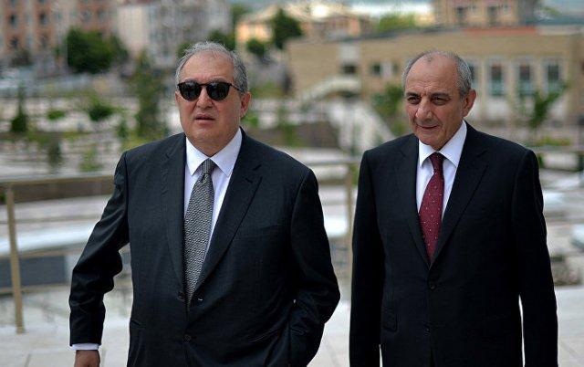 Бако Саакян поздравил Армена Саркисяна с днем рождения
