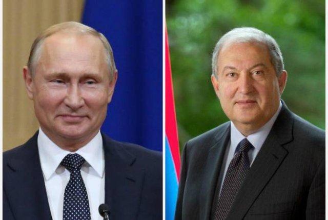 Высоко ценим Вашу роль в деле развития отношений между нашими странами – Владимир Путин поздравил Армена Саркисяна
