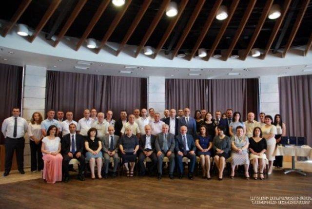 Бако Саакян присутствовал на презентации сборника прецедентных решений Верховного суда