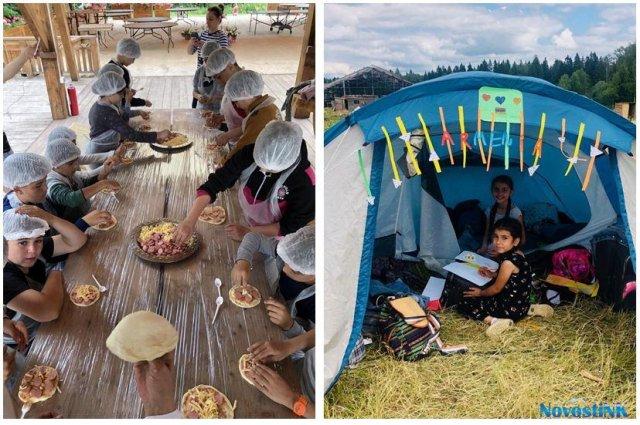 Лагерь дружбы на «Экоранчо» в Подмосковье 2019