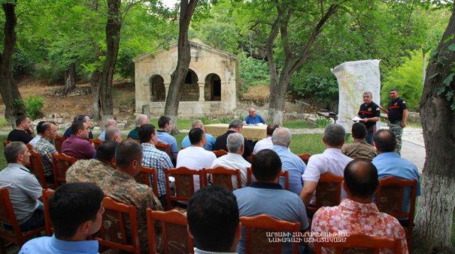 Президент Арцаха провел в Тигранакерте совещание по вопросам сферы сельского хозяйства