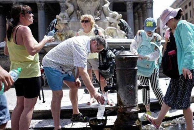 В Италии три человека стали жертвами жары