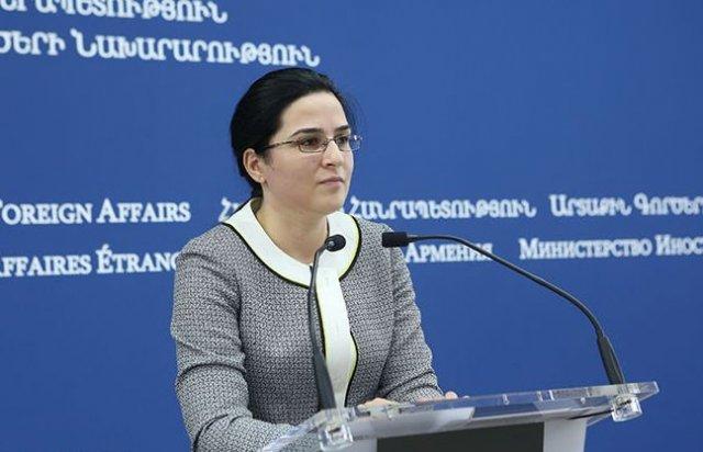 Сценарий односторонних уступок исключается – Анна Нагдалян
