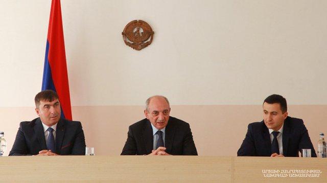 Арарат Мелкумян назначен на должность главы администрации Мартунинского района НКР