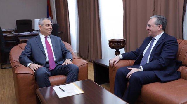 Главы МИД Армении и Арцаха подписали план консультаций