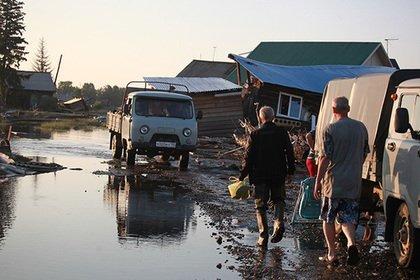 Названа сумма ущерба от наводнений в Иркутской области