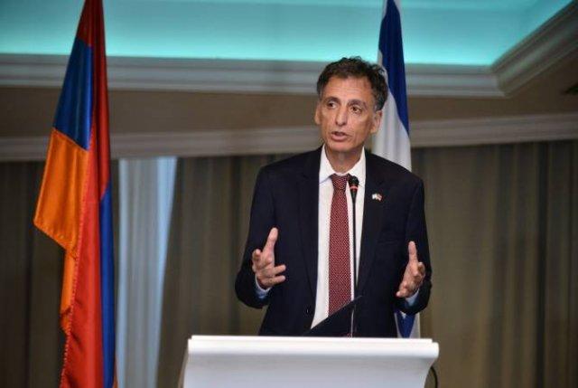 Одно из самых больших предумышленных убийств 20-го века: посол Израиля о Геноциде армян