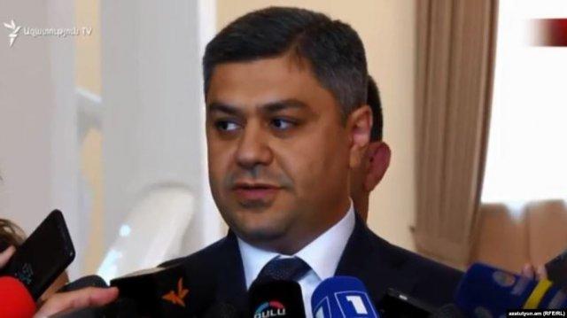 Глава СНБ Армении Артур Ванецян поручил расследовать причины энергоаварии