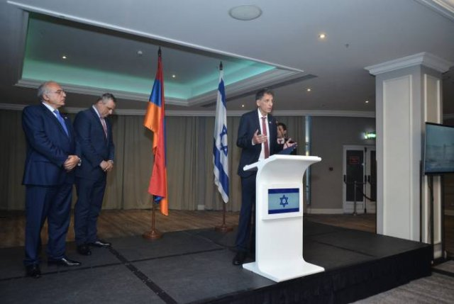 Посол Израиля считает перспективным сотрудничество с Арменией в сфере высоких технологий
