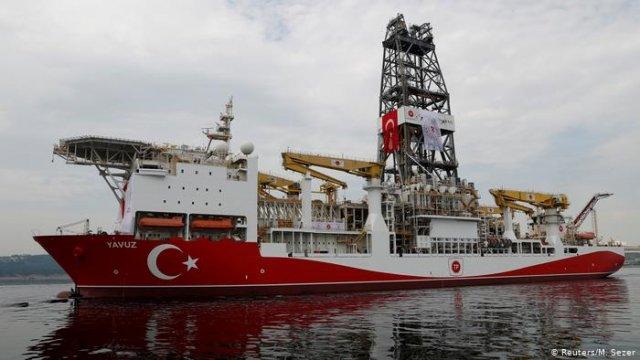 ЕС готовит санкции против Турции из-за разведки газа возле Кипра