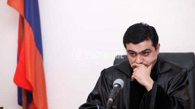 Судья Мхитар Папоян пока не сформировал мнение касательно письма Ваге Григоряна