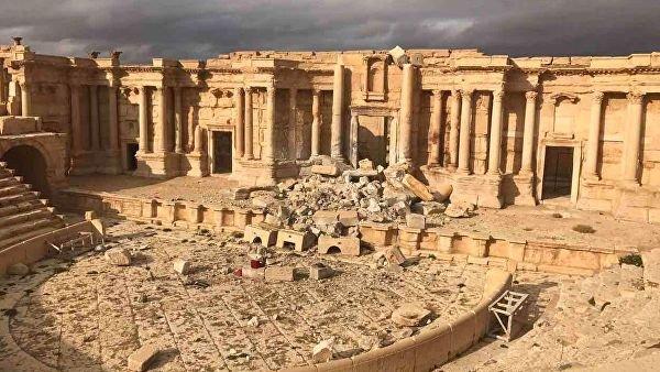 В Дамаске приступили к восстановлению древних барельефов из Пальмиры