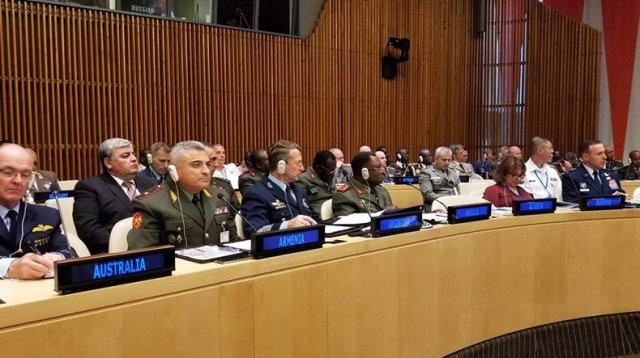 Замначальника Генштаба ВС Армении принял участие в конференции в Нью-Йорке