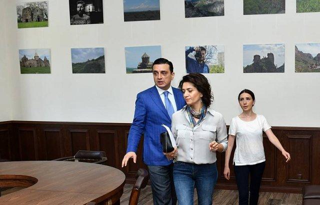 Анна Акопян посетила Реабилитационный центр защитника Отечества
