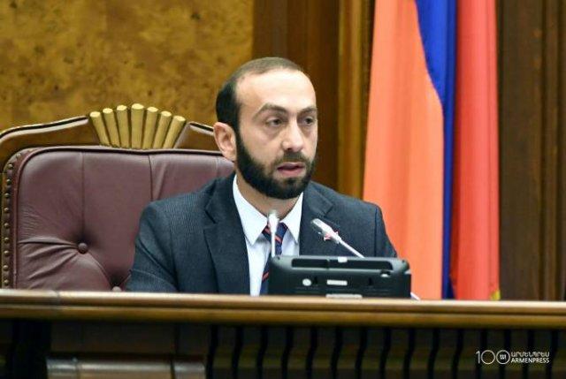 Делегация во главе со спикером НС Армении с рабочим визитом посетит США