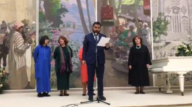 На выставке в Русском музее представлены и экспонаты из собрания Национальной галереи Армении