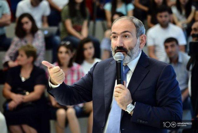 Будущее Армении зависит от каждого гражданина — Пашинян