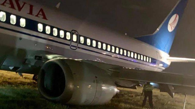 139 человек спаслись чудом: в Киеве аварийно приземлился белорусский самолет