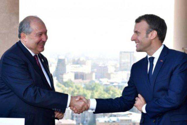Отношения РА и Франции привилегированные — президент Саркисян поздравил Эммануэля Макрона