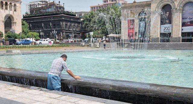 В Ереване и некоторых областях Армении температура воздуха повысится до + 40
