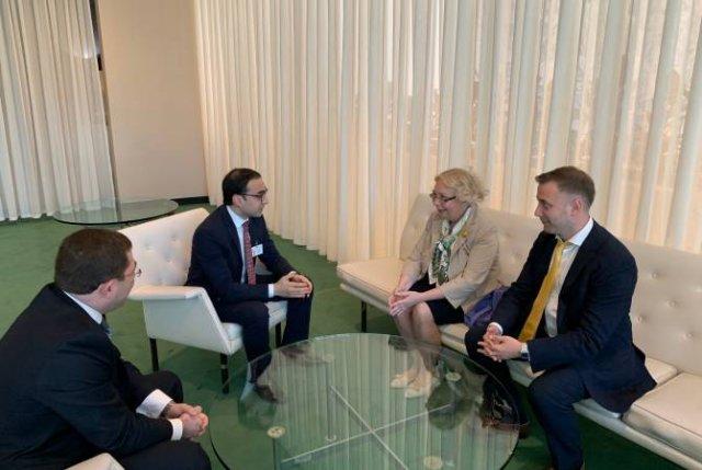 Вице-премьер Тигран Авинян встретился с членом коллегии ЕЭК Татьяной Валовой