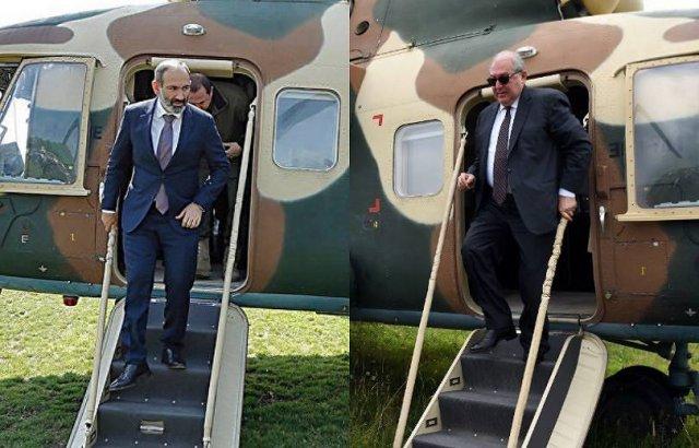 Премьер не летал в Иджеван на вертолете: в последний раз им пользовался Армен Саркисян