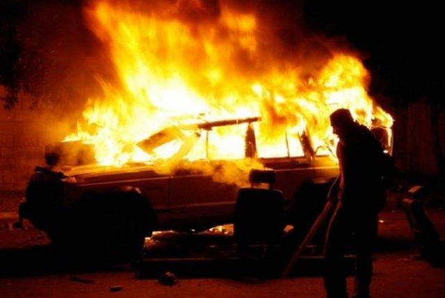 В Масисе сгорел гараж с автомобилем, один пострадавший госпитализирован