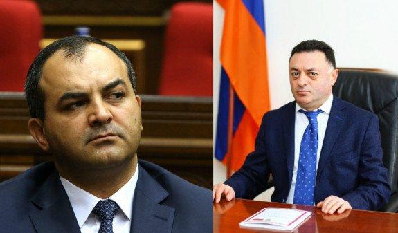 ВСС попросили дать разрешение на уголовное преследование судьи Давида Григоряна
