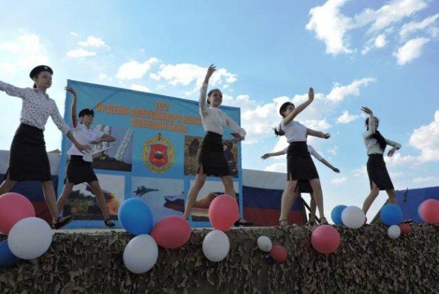 В Армении военнослужащие ЮВО приняли участие в национальном празднике Вардавар