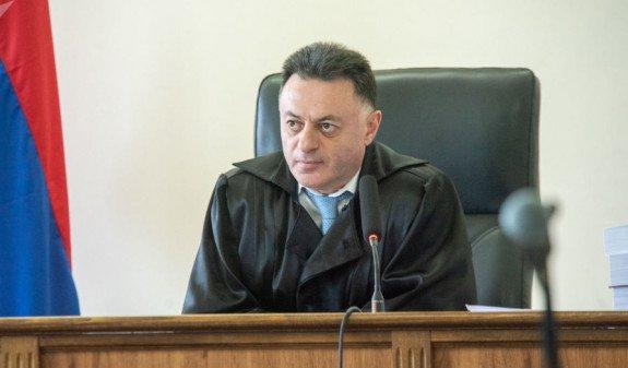 Стала известна судьба дел, находящихся в производстве судьи Давида Григоряна