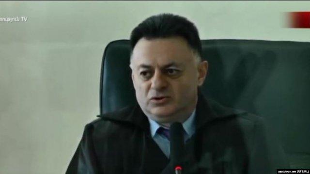 Судье Давиду Григоряну предъявлено обвинение по статье о совершении должностного подлога