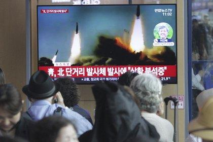 Северная Корея запустила несколько неопознанных снарядов