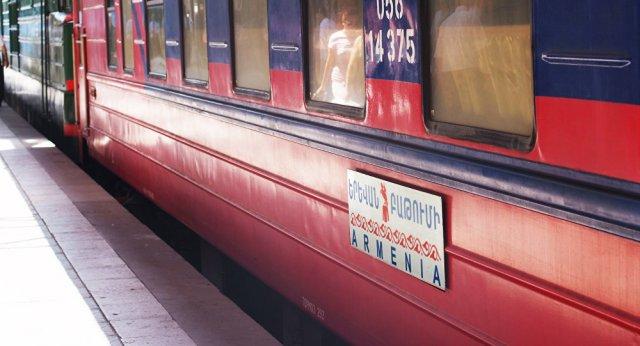 График движения международных поездов в Армении восстановлен