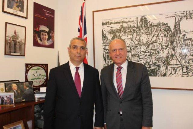 Глава МИД Арцаха встретился с председателем комитета по внешним отношениям Сената Австралии