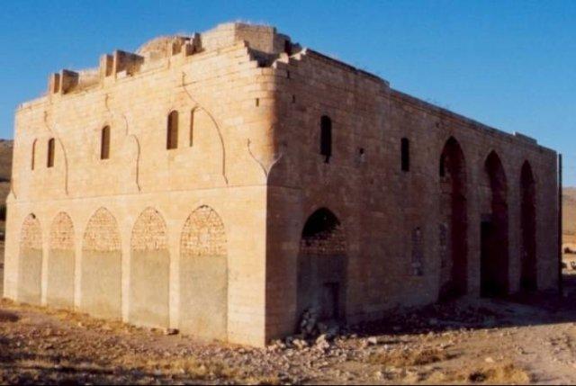 Армянская церковь Св. Богородицы в Урфе разрушается